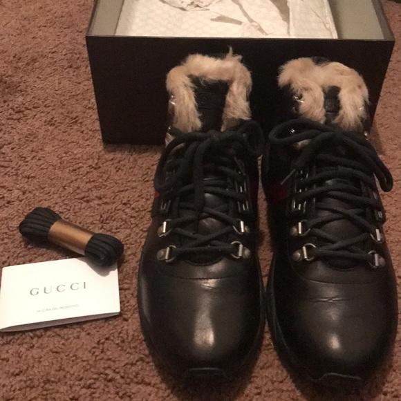 8f9172075d3 Men s Gucci Winter Boot